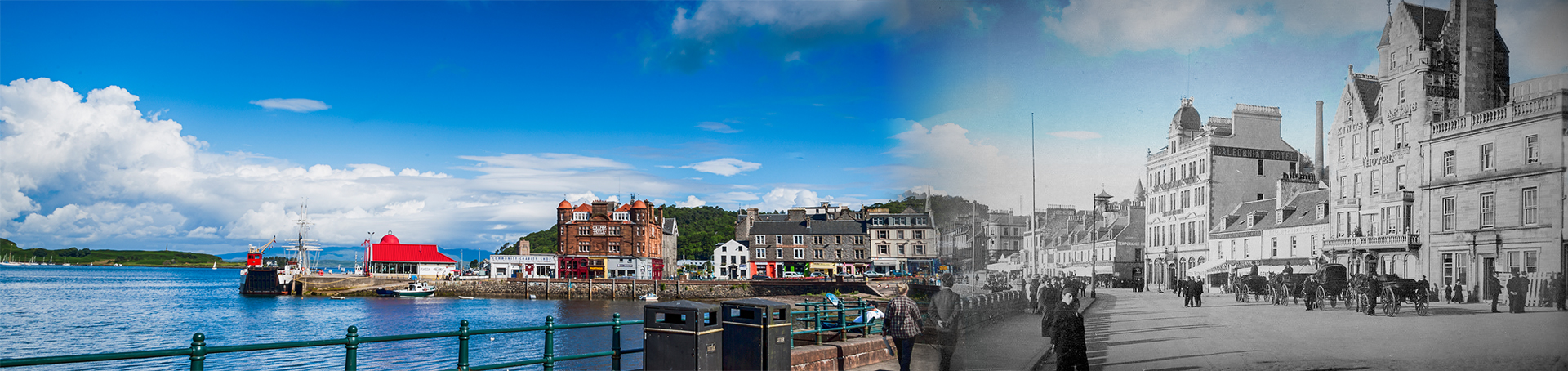 Oban of Today & Yesteryear