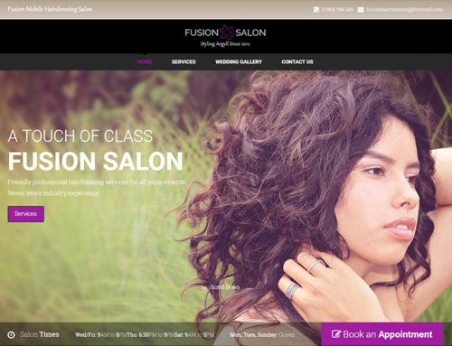 Fusion Mobile Hairdressing Salon