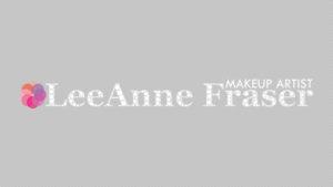 LeeAnne Fraser Makeup Artist Logo